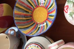 Pottery painting pieces