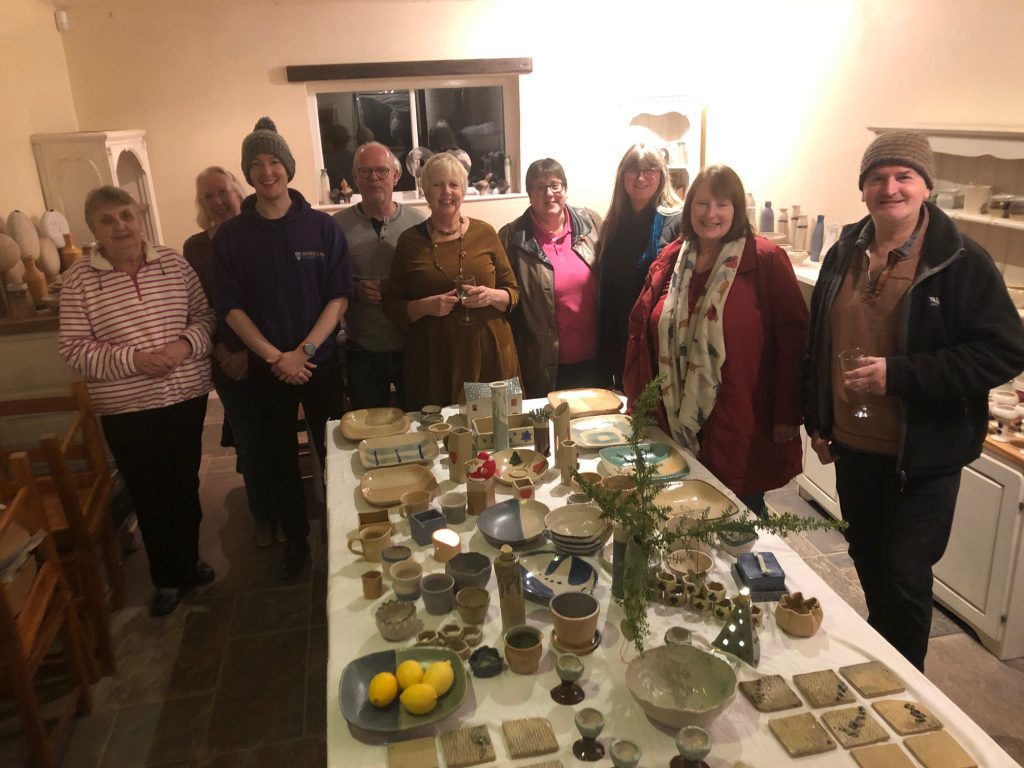 Autumn 2019 8 week pottery class