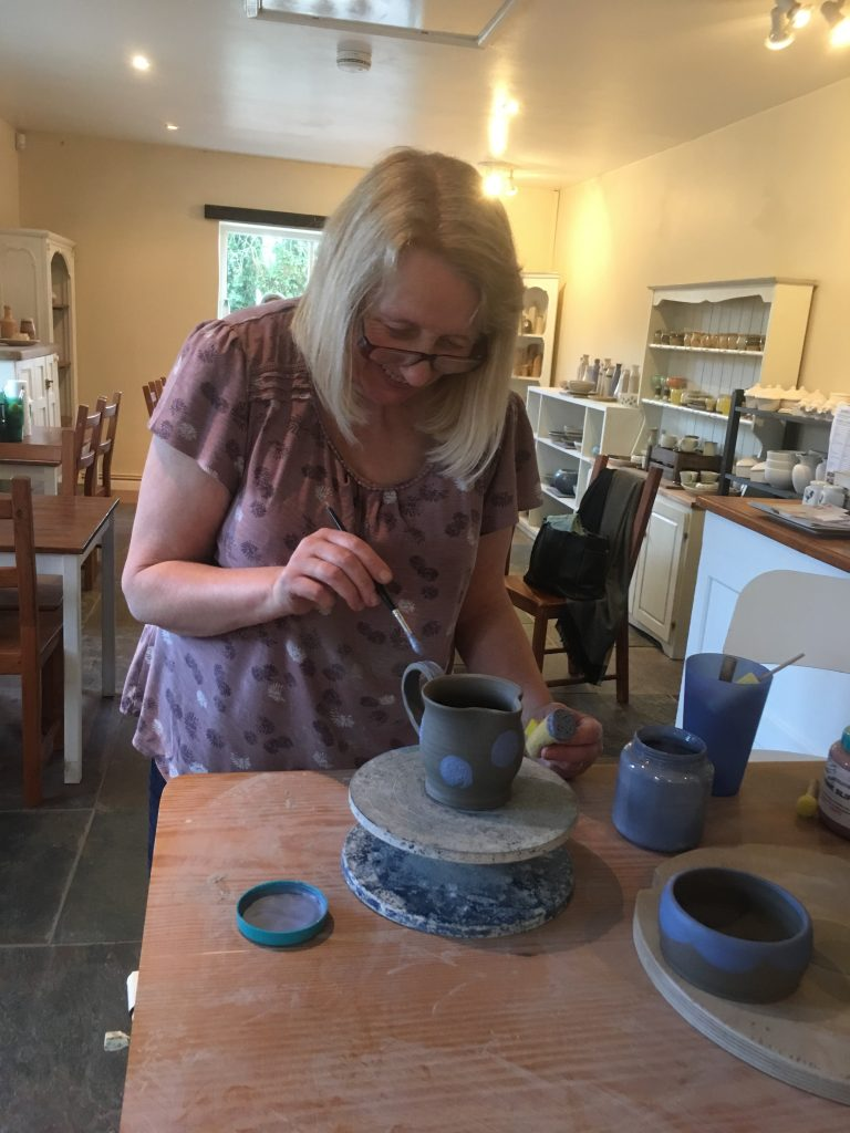Pottery making and decorating workshop
