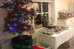 Annual Christmas Fayre with pottery and local craft for sale