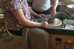 Wheel throwing workshop